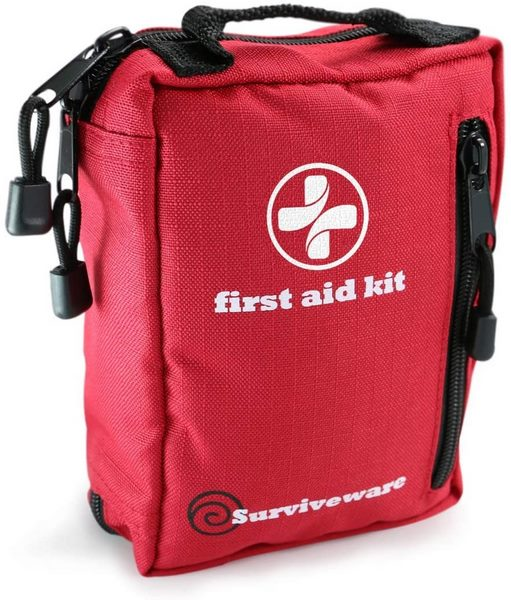 surviveware small first aid kit for backpacking